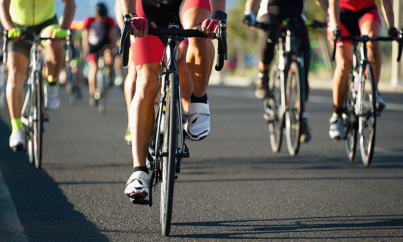 Olika typer av däck för racercyklar