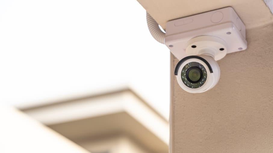 Vidvinkel för övervakningskamera – inomhus och utomhus